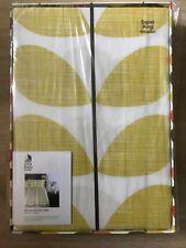 Orla Kiely Scribble Stem Duvet Cover, Super King, Lemon Yellow - New, Sealed