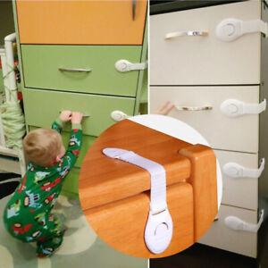 Baby Safety Door Lock cupboard Cabinet Drawer 3m tape.Pet Child locks