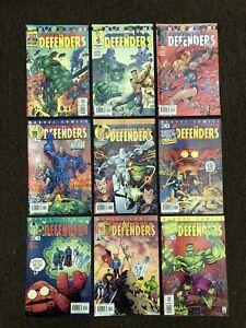 Defenders #1-4 8-12 VF+ 2001 2nd Series Dr Strange Silver Surfer Lot Of 9 Marvel