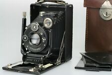 GOERZ TENAX Plate Camera 6 x 9 cm + DOGMAR 1: 4,5 F = 11 cm + Plates + Case NICE