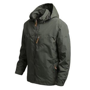 Winter Warm  Men's Waterproof Soft Shell Jacket Tactical Hoodie Military Coats