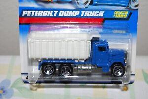 Hot Wheels Peterbuilt Dump Truck 1009