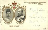 TUCK Empire Series 248 Queen Queen Alexandra King Edward 1900 Postcard