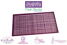 Printing Mesh Stencil | Linen Fabric | Cake Decorating Craft