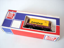 JOUEF 6453 - WAGON PLAT A BORDS BAS DANZAS - ECHELLE H0 1/87