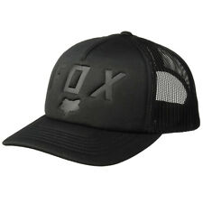 Fox Racing Men's Foaming At The Moth Trucker Snapback Hat Black Vintage Cap