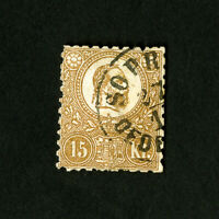 Hungary Stamps # 5 Used Fresh Catalog Value $125.00