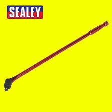 """Sealey Barra de interruptor 600 mm 1/2""""Sq Unidad de Llave de Tubo Rojo Hi Viz AK730R"""