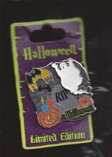 DISNEY HALLOWEEN 2009 GHOST RIP TOMBSTONE BAT JACK-O-LANTERN PUMPKIN PIN LE 1000