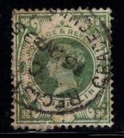 Großbritannien 1887 Mi. 97 Gestempelt 40% 1 Sh, Königin Victoria