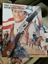 1982 Winchester Catalog, Sporting Arms, John Wayne, Uncirculated New Old Stock!
