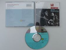 CD ALBUM bill MONROE AND THE BLUEGRASS BOYS Live recordings 1956 1969 sfcd 40063
