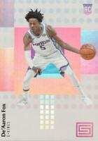 2017-18 Panini Status Rookies De'Aaron Fox #148 Rookie Sacramento Kings