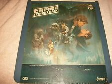 Star Wars The Empire Strikes Back Selectavision Video Disc Used