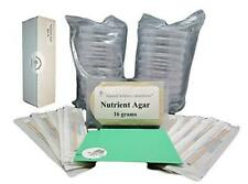 Nutrient Agar Kit Includes 20 Sterile Petri Dishes With Lids Amp 20 Sterile