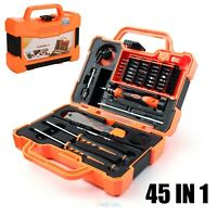 45 in 1 Screwdriver Set Repair Kit Opening Tools For Cellphone Computer JM-8139