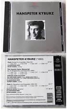 HANSPETER KYBURZ Klangforum Wien .. 1997 WDR SDR CD TOP