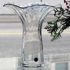 """AURELIA Vase PEILL 8.25"""" tall Lead Crystal NEW NEVER USED #25973 made Germany"""