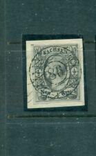Sachsen, König , Nr. 8 vollstempel Nr 86 auf Briefst