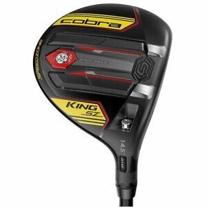 Cobra King SpeedZone Black/Yellow 14.5* 3 Wood Senior Very Good