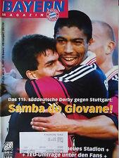 Programm 1997/98 FC Bayern München - VfB Stuttgart