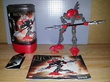 LEGO BIONICLE RAHKSHI - 8592 - TURAHK - GREAT CONDITION, INC CANISTER & KRAATA