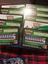 Bundle of 10 XY Evolutions Unused Online Booster Pack Code Cards