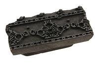 Tampone Per Batik 15 CM Stampa Vintage India Scrapbooking 2680 C6