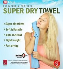 N-rit Ultrafine Microfibre Anti Bacterial Super Dry Towel NSC411 XL 63.5x150cm