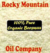 1 POUND WHITE ORGANIC BEESWAX TRIPLE FILTERED PASTILLES PELLETS LB PURE BEADS