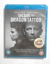 The GIRL with the DRAGON TATTOO BLU RAY NEW & SEALED Starring Daniel Craig