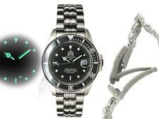 Tauchmeister 1937 Edelstahl Armbanduhren für Herren