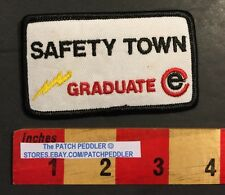 Safety Town Graduate Patch Police Kids Stranger Danger Pool Fire Bus 911 57CC