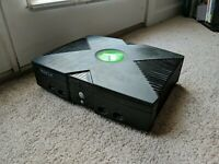 Microsoft Original Xbox CONSOLE ONLY tested With power cord. POWERS ON