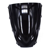ABS Windshield Windscreen Screen For 675 2006 2007 2008 Black Road Motorcycle