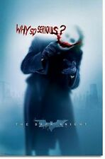 BATMAN DARK KNIGHT POSTER Why so Serious Heath Ledger