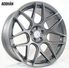 18X9 +30 AodHan LS002 5X100 Gun Metal Wheel Fit DODGE NEON SRT4 FORESTER OUTBACK