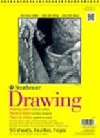 Strathmore 300 Series Spiral Binding Drawing Pad - 11 x 14 in. - 50 Sheet