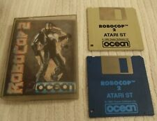 "ATARI ST (VINTAGE) COMPUTER ""RARE"" GAME  *** ROBOCOP 2 *** WITH CASE - USED"