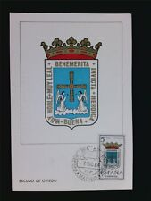 SPAIN MK 1964 ESCUDO OVIEDO WAPPEN BLAZON MAXIMUMKARTE MAXIMUM CARD MC CM c5596