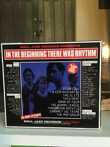 IN THE BEGINNING THERE WAS RHYTHM-V/A-SOUL JAZZ CD-vgc