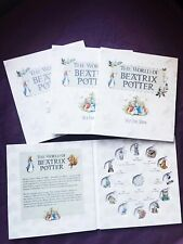 Presale 2016-2018 Beatrix Potter 50p Fifty pence Coin Album folder collecting