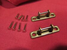 vintage NOS Gibson case handle brackets + TKL Rivets for es 335 Les Paul paf L5