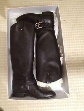 CHRISTIAN DIOR Amazone Flat Knee High Boots Women's 38 8 Calfskin Leather EUC