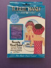 Turbie Band By Turbie Twist Beauty Head band Purple  G3