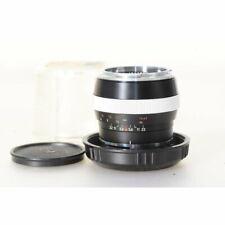 Carl Zeiss Sonnar 2,0/85 Black für Contarex Kameras