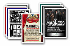 MADNESS  - 10 promotional posters  collectable postcard set # 1