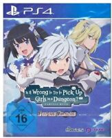 IS IT WRONG TO TRY TO PICK UP GIRLS IN A DUNGEON PS4 GAME (GERMAN USK)