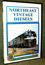 "cp033 TRAIN VIDEO DVD ""NORTHEAST VINTAGE DIESELS"" JERSEY CENTRAL, NYC"