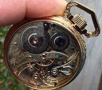 Absolutely Amazing 16s 23 Jewel Hamilton Model No. 950 Display Case Pocket Watch